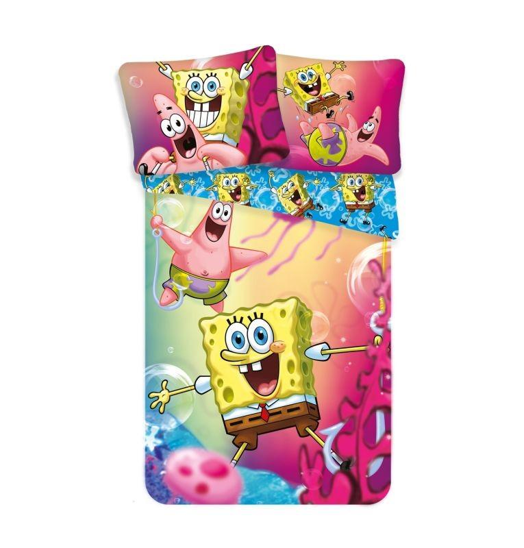 Obliečky SpongeBob 140/200, 70/90