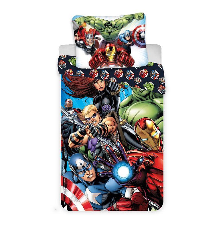 Obliečky Avengers 03 140/200, 70/90