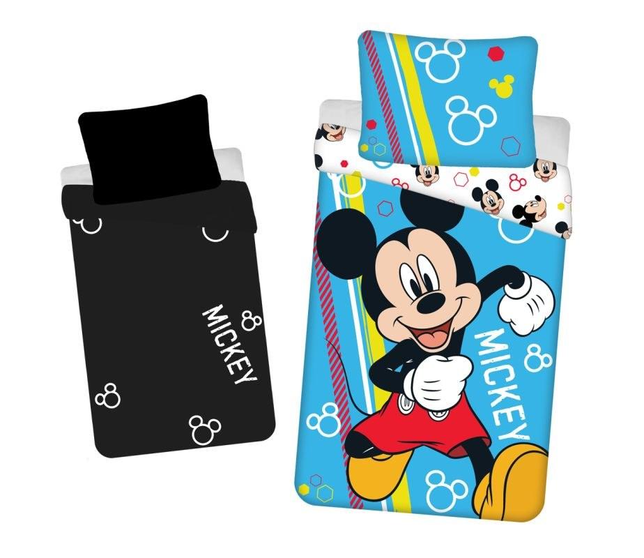 JERRY FABRICS Obliečky Mickey Happy svietiaci  Bavlna, 140/200, 70/90 cm