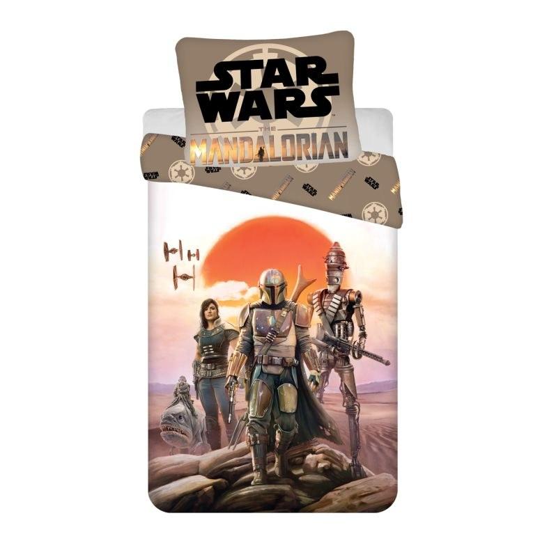 JERRY FABRICS Obliečky Star Wars Mandalorian  Bavlna, 140/200, 70/90 cm