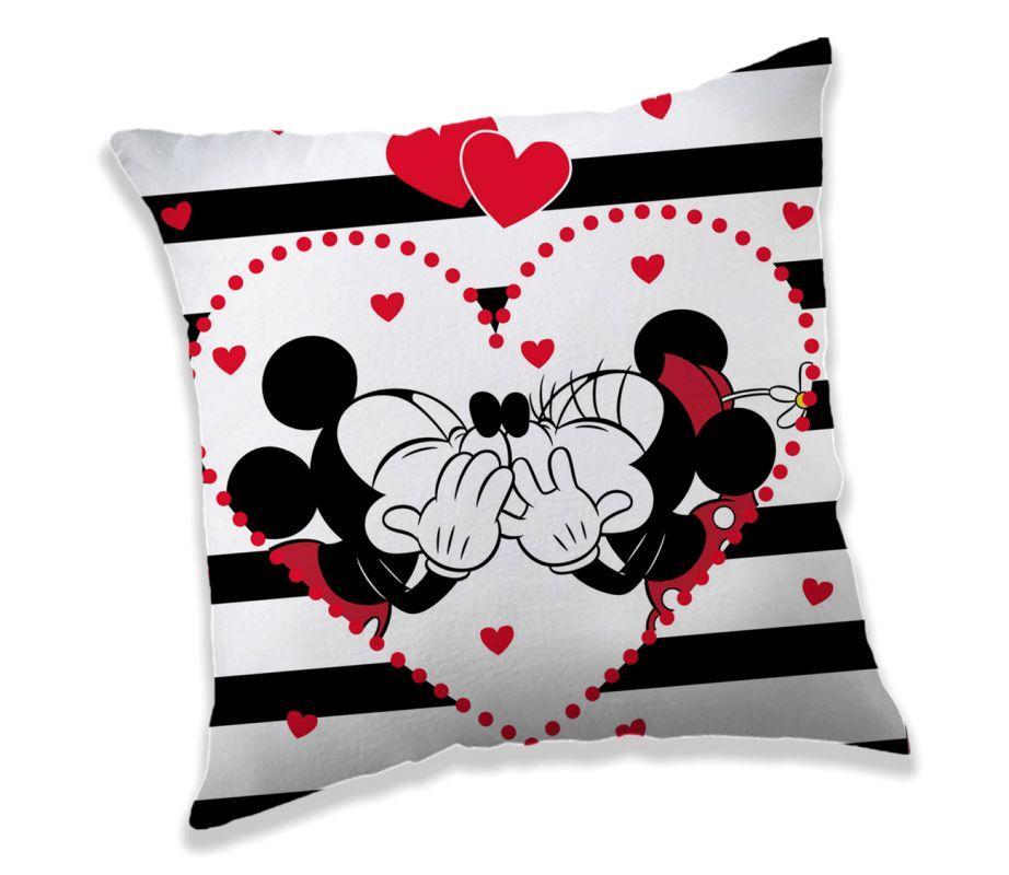 Vankúšik Mickey a Minnie stripes 40/40
