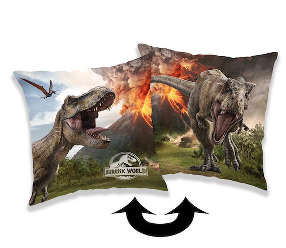 JERRY FABRICS Vankúšik Jurský svet Volcano  Polyester, 40/40 cm