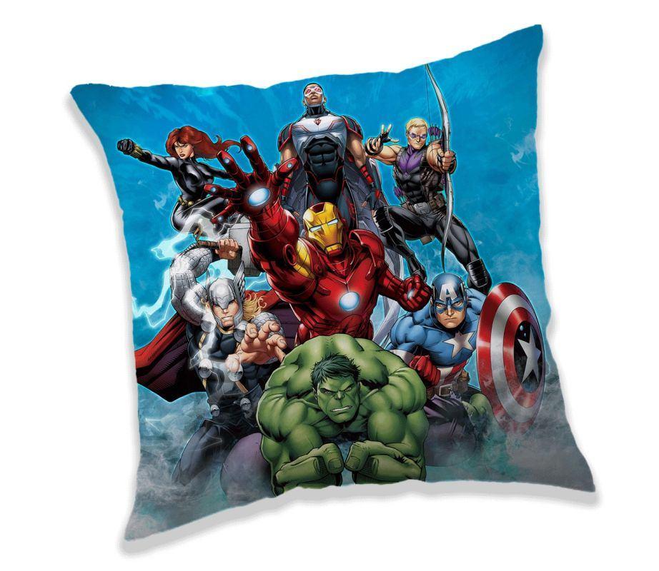 JERRY FABRICS Vankúšik Avengers 02 Polyester, 40/40 cm