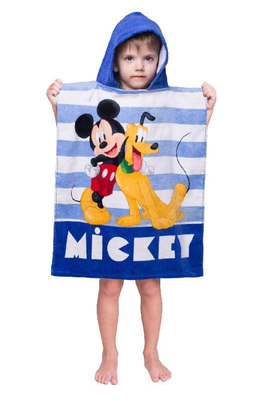 JERRY FABRICS Pončo Mickey stripe  Bavlna - Froté, 50/115 cm