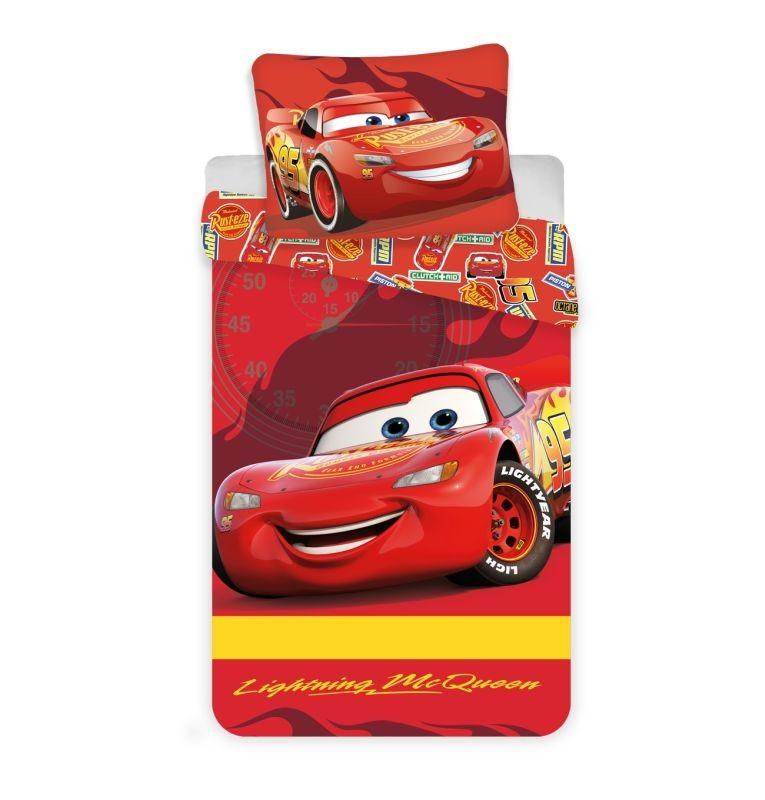 Obliečky do postieľky Cars baby McQueen 100/135, 40/60