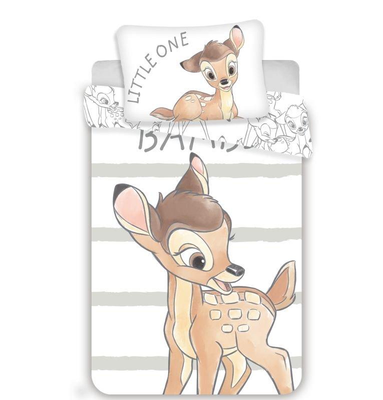 Obliečky do postieľky Bambi stripe baby 100/135, 40/60