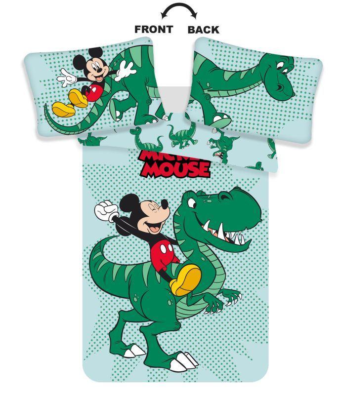 JERRY FABRICS Obliečky do postieľky Mickey dino baby  Bavlna, 100/135, 40/60 cm