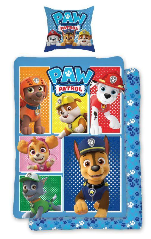 Obliečky do postieľky Paw Patrol 184 baby 100/135, 40/60