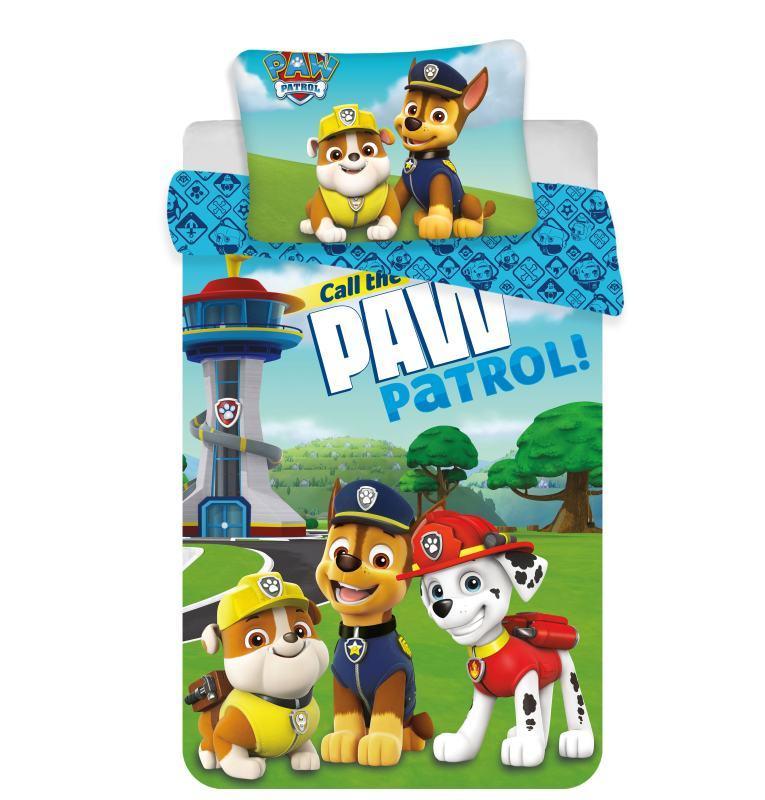 Obliečky do postieľky Paw Patrol 121 baby 100/135, 40/60