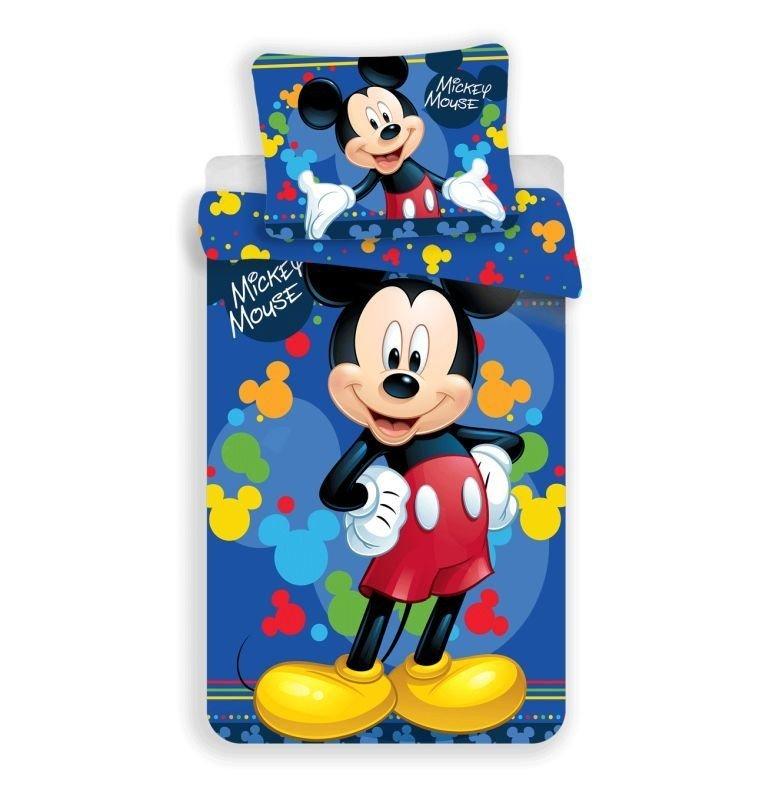 Obliečky Mickey blue 03 micro 140/200, 70/90