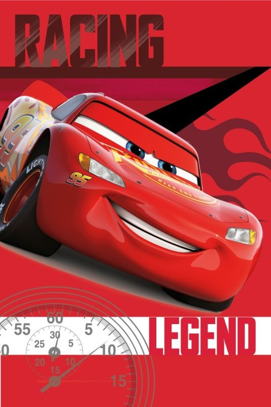 Fleece deka Cars legend 100/150