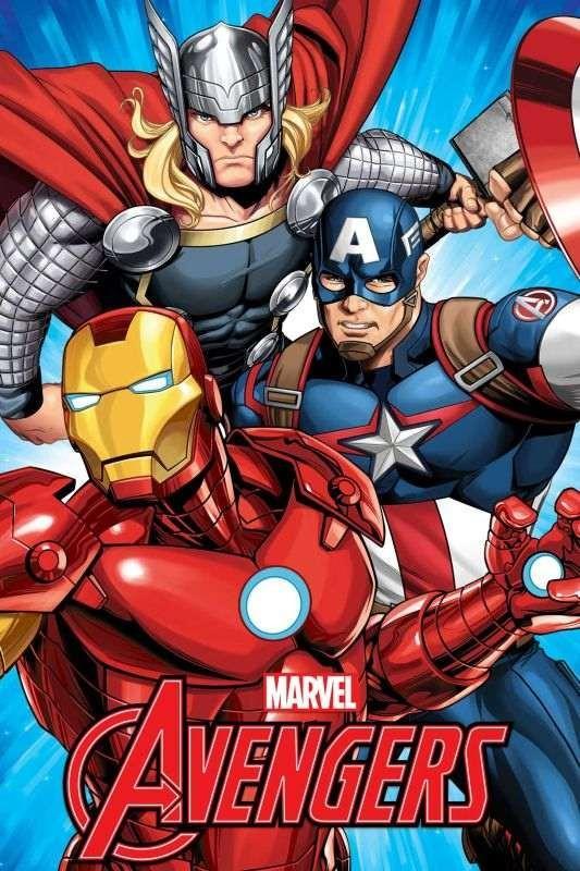 Fleece deka Avengers 100/150