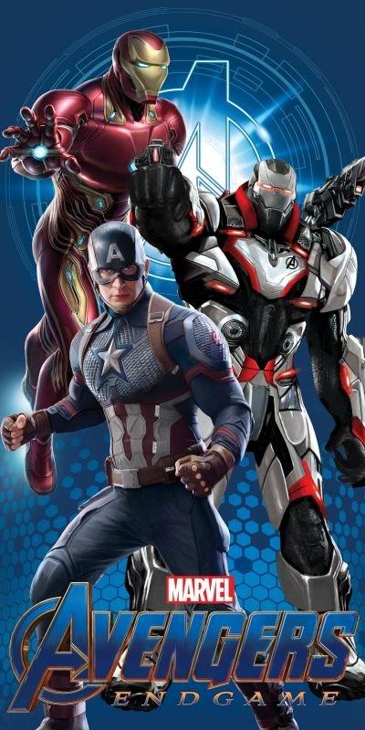 Osuška Avengers Endgame 04 70/140 cm