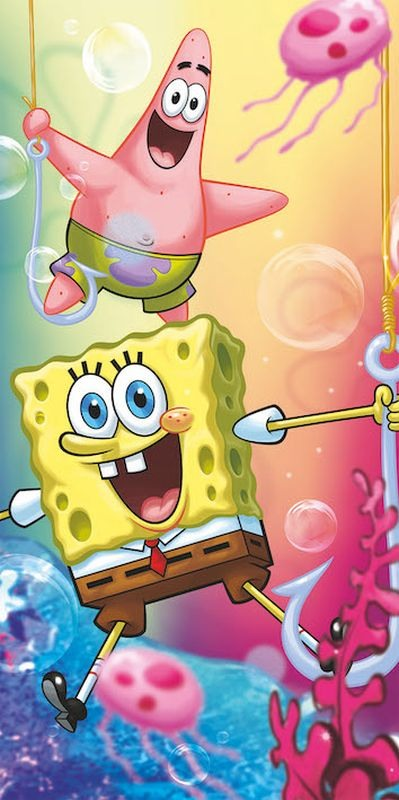 Osuška Sponge Bob 012 70/140