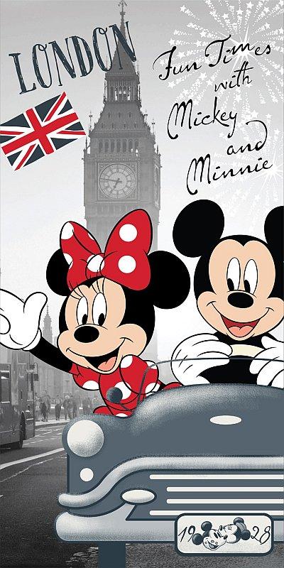 Osuška Mickey a Minnie v Londýne 70/140