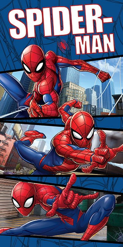 Osuška Spiderman blue 02 70/140