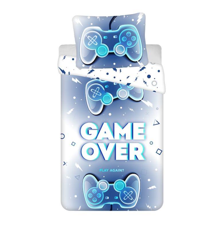 JERRY FABRICS Obliečky Game Over  Bavlna, 140/200, 70/90 cm