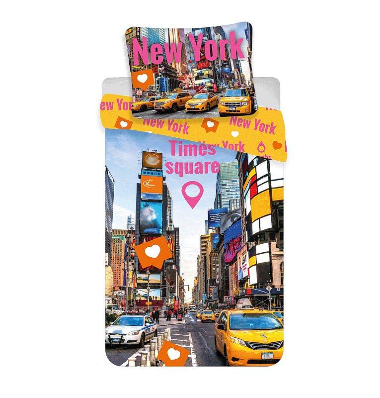 Obliečky Times Square 140/200, 70/90