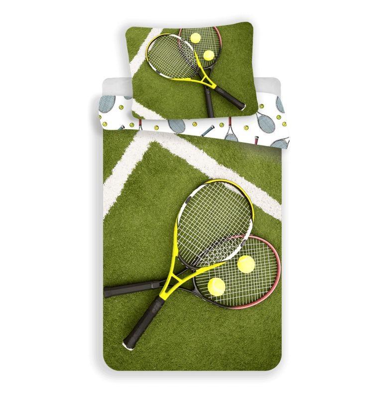 JERRY FABRICS Obliečky Tenis  Bavlna, 140/200, 70/90 cm