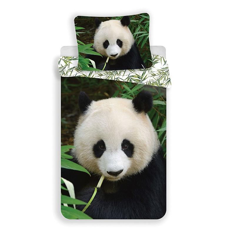 JERRY FABRICS Obliečky Panda  Bavlna, 140/200, 70/90 cm