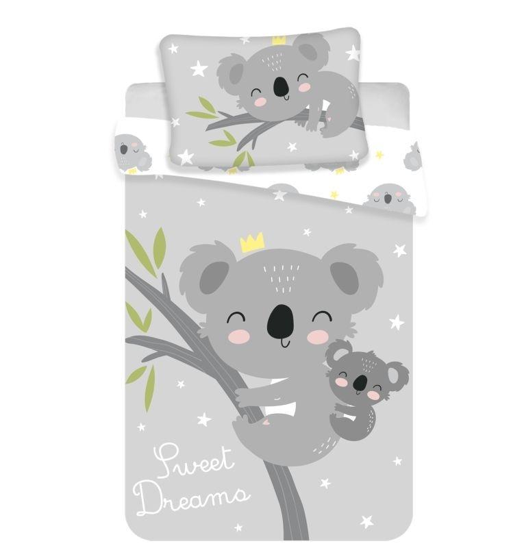JERRY FABRICS Obliečky do postieľky Koala sweet dreams baby  Bavlna, 100/135, 40/60 cm