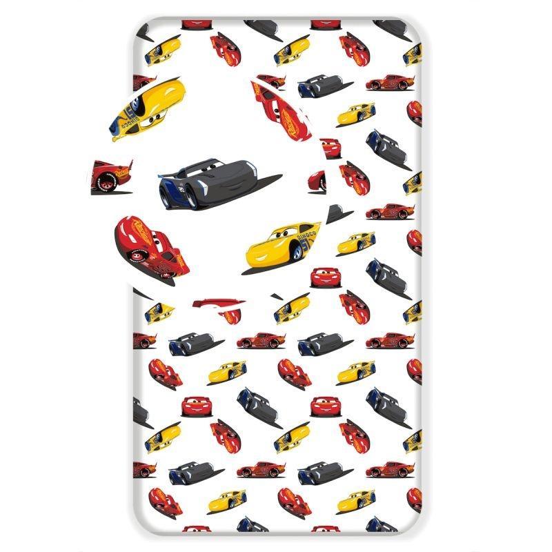 JERRY FABRICS Plachta Cars I am speed  Bavlna, 90/200 cm