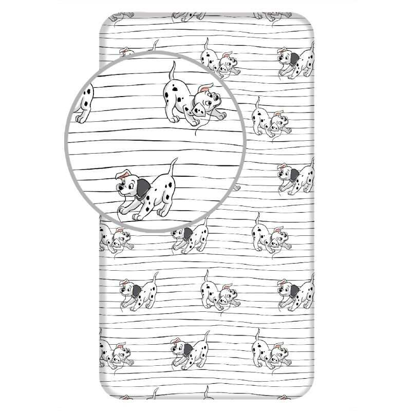 JERRY FABRICS Plachta 101 Dalmatinů Lucky stripe Bavlna, 90/200 cm