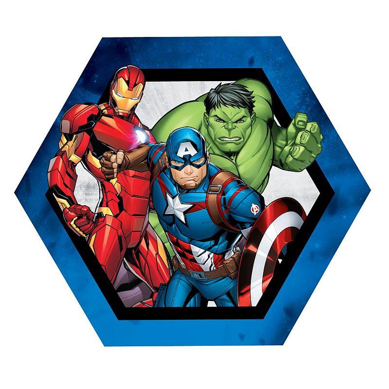 Tvarovaný vankúšik Avengers group 32 cm