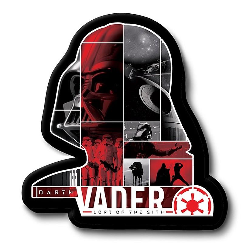 Tvarovaný vankúšik Darth Vader 30 cm