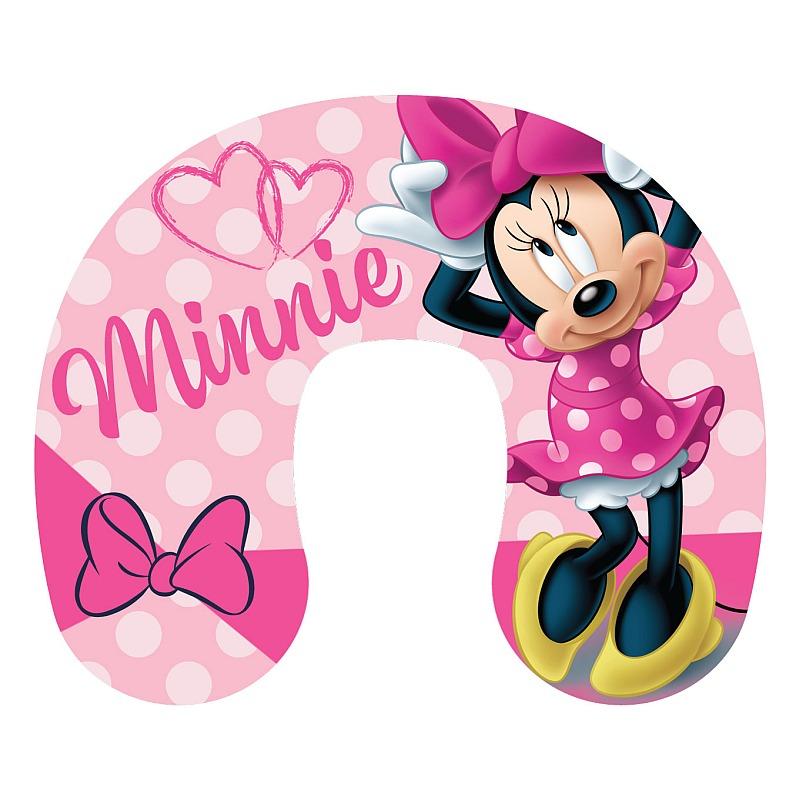Cestovný vankúš Minnie pink