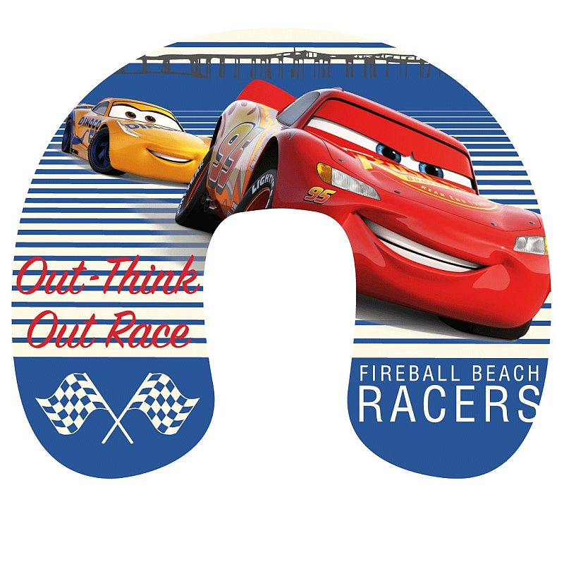 Cestovný vankúš Cars Race