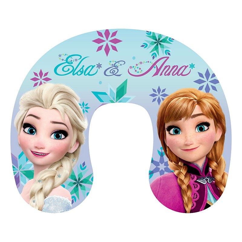Cestovný vankúšik Ľadové Kráľovstvo Anna a Elsa
