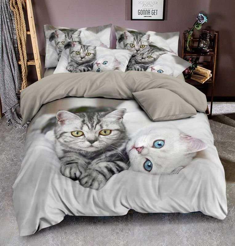3D Obliečky Kittens micro 140/200, 70/90 +40/40