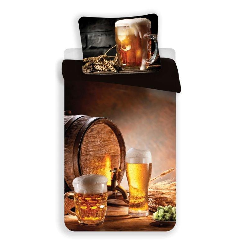 3D Obliečky Golden Beer micro 140/200, 70/90