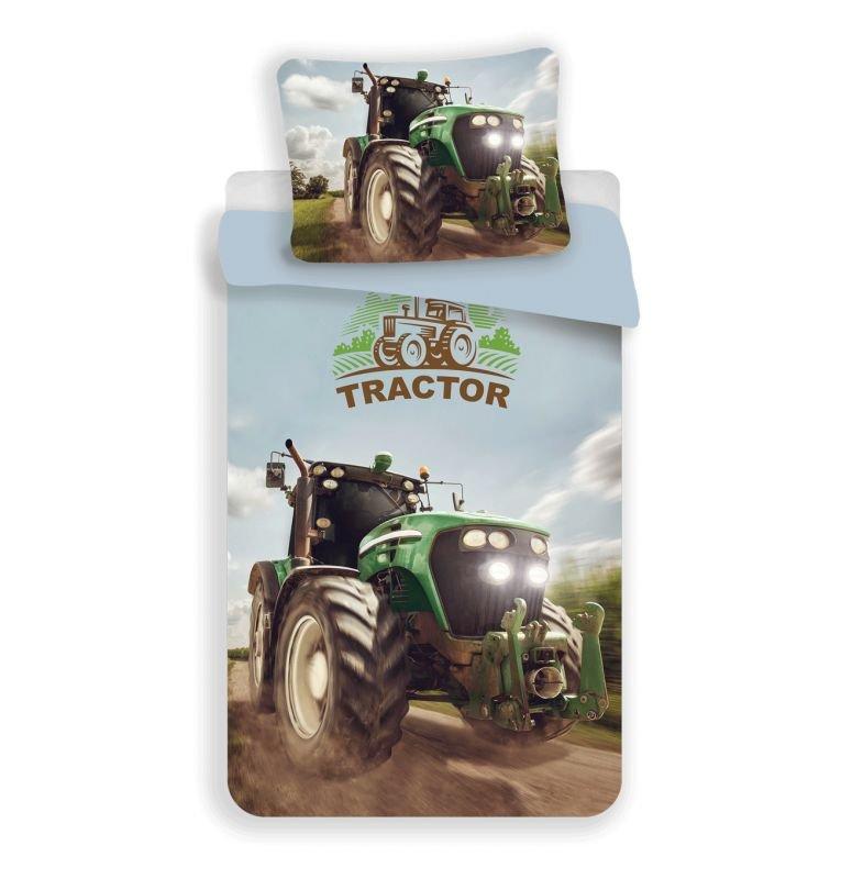3D Obliečky Traktor green micro 140/200, 70/90