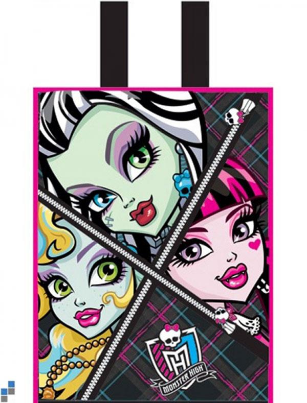 Detská nákupná taška Monster High Faces 30 cm