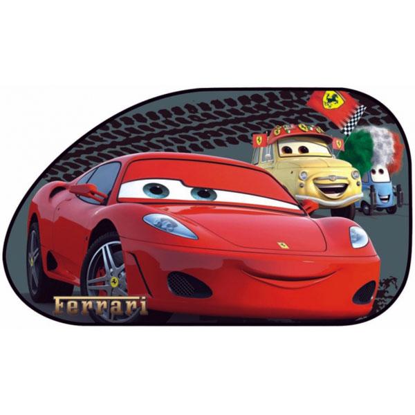 Slnečná clona Autá, Cars 65x38 cm 2 ks