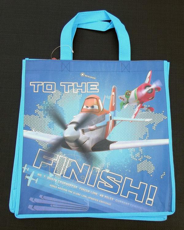 Detská nákupná taška Planes Finish 32 cm