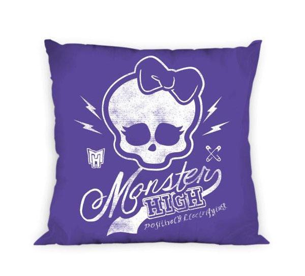 detský vankúšik Monster High modráObliečka na vankúšik Monster High fialová 40/40