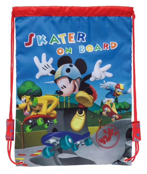 Taška na telocvik a prezúvky Mickey na skatu 40 cm