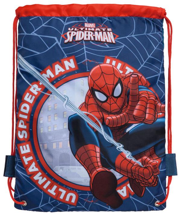 Taška na telocvik a prezúvky Spiderman blue 40 cm