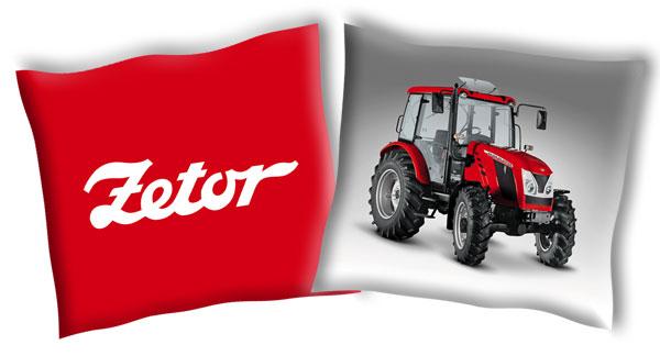Obliečka na vankúšik Traktor Zetor 2 40/40