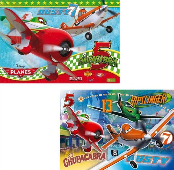 Puzzle Lietadlá, Planes 2v1 20 + 20 dielikov