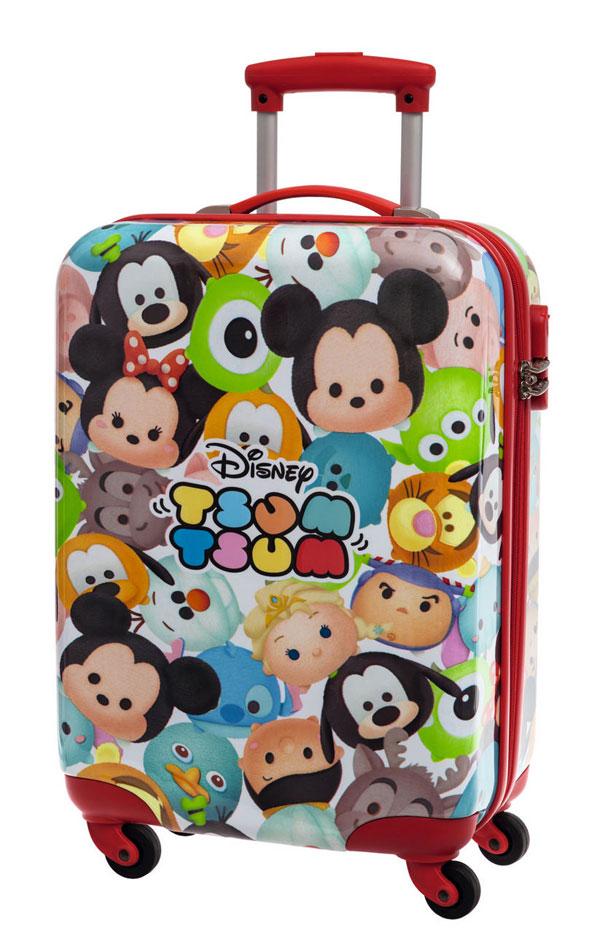 detský kufor na cesty DisneyCestovný kufor ABS Disney Tsum Tsum 55 cm