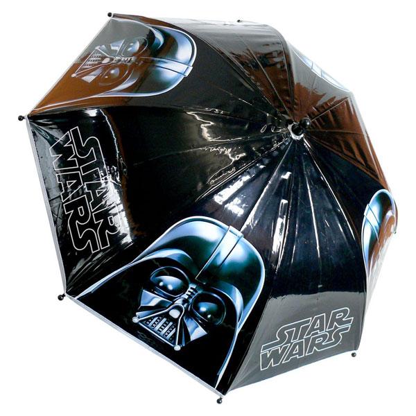 Detský dáždnik Star Wars čierný