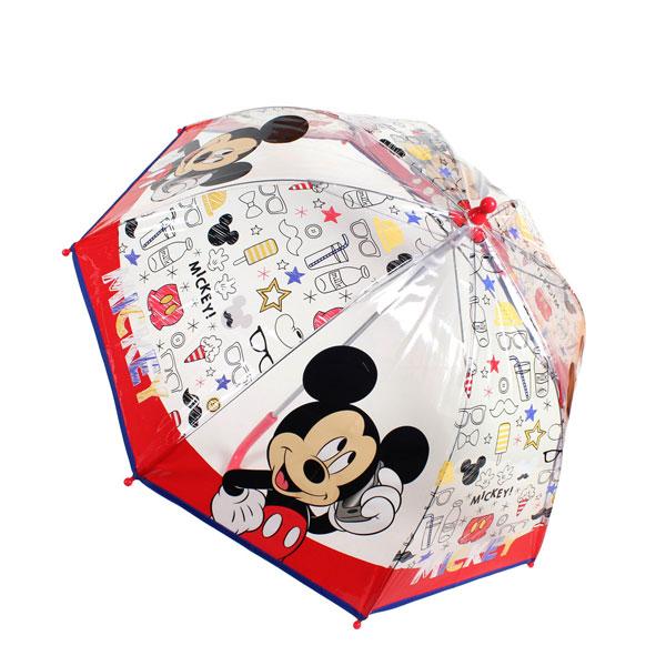 Priehľadný dáždnik Mickey volá