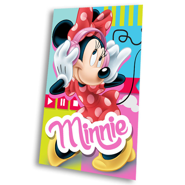 Fleece deka Minnie Music 100/150