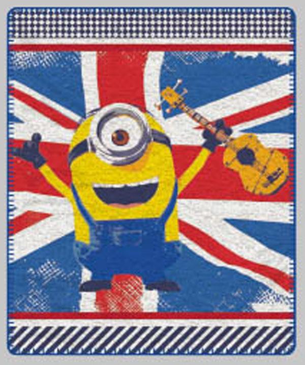 Fleece deka MimoniFleece deka Mimoni vlajka 125/150 cm