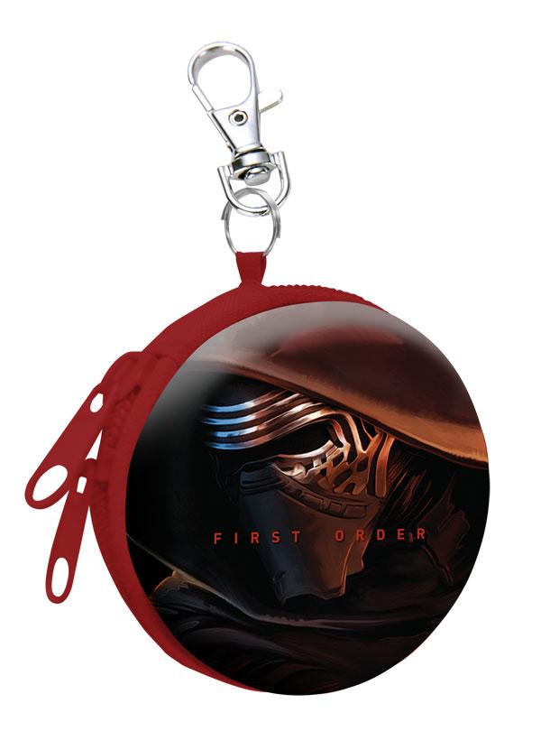 Detská kovová peňaženka s karabínou Star Wars Kylo Ren