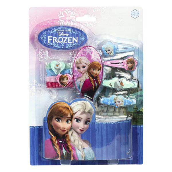 Sada vlasových doplnkov Ľadové Kráľovstvo na karte